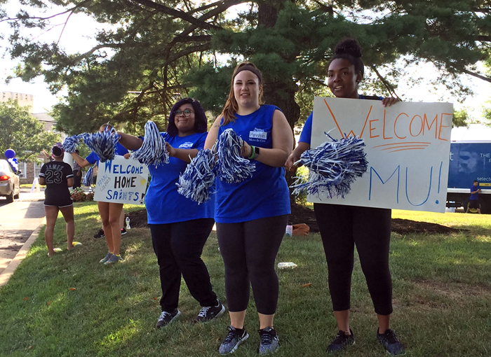 Marymount welcomes new freshmen and transfer students on 2019 Move-In Day